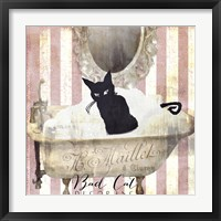 Bad Cat II Framed Print