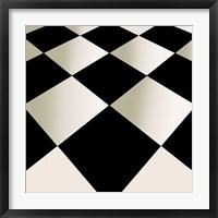 Fifties Patterns V Framed Print