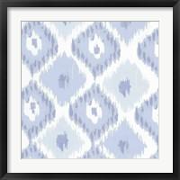 Kasbah Blue II Framed Print