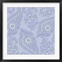 Kasbah Blue III Framed Print