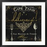La Cuisine III Framed Print