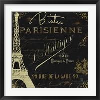 La Cuisine VI Framed Print