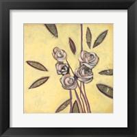 Framed Fleur de Joie I