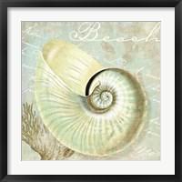 Turquoise Beach IV Framed Print