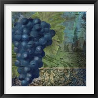 Vino Blu Two Framed Print