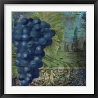 Vino Blu Two Framed Print