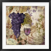Wine Country III Framed Print