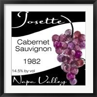 Wine Walley II Framed Print