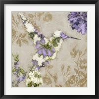 Winged Tapestry IV Framed Print