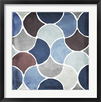Moroccan Blues II Framed Print