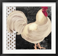 White Rooster Cafe I Framed Print