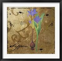 Black Gold Herbs II Framed Print