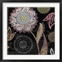Daisy Cartwheels I Framed Print