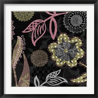 Daisy Cartwheels II Framed Print
