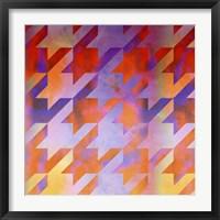 Houndstooth VIII Framed Print