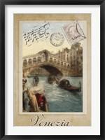 European Vacation I Framed Print
