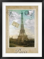 European Vacation II Framed Print