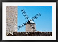 Framed Spain, Toledo Province, Consuegra La Mancha Windmills