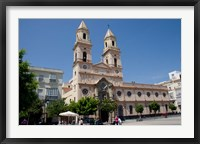 Framed Cathedral of San Antonio de Padua, Spain