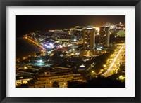 Framed City Overlook, Tenerife, Canary Islands, Spain