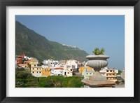 Framed Sea Coast Village, Tenerife, Canary Islands, Spain