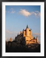 Framed Alcazar, Segovia, Spain