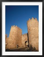 Framed Avila City Wall, Spain