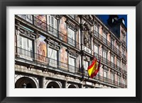 Framed Spain, Madrid, Plaza Mayor, Building Detail