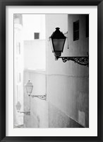 Framed Streelights, Palma, Mallorca, Spain