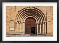 Framed Spain, Avila St Peter's Church in the Plaza De Santa Teresa