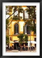 Framed Outdoor Cafes, Plaza de la Merced, Malaga, Spain