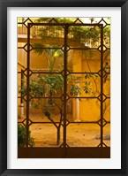 Framed Palacio de la Condesa de Lebrija Courtyard, Seville, Spain