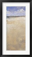 Gulf Shore One Framed Print