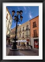 Framed Outdoor Cafe,  Avila, Spain