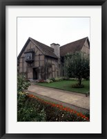 Framed Home of William Shakespeare, Stratford-upon-Avon, England