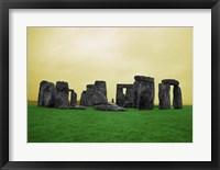 Framed Stonehenge, England