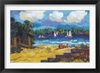 Framed Brilliant Bay