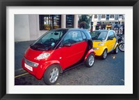 Framed Smart Cars, London, England