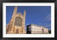 Framed Cambridge Kings College, Cambridgeshire, England