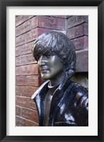 Framed John Lennon, Mathew Street, Liverpool, England