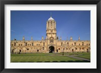 Framed Tom Tower, Christchurch University, Oxford, England
