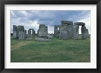 Framed Stonehenge, Avebury, Wiltshire, England