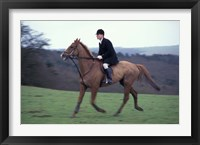 Framed Horseback riding, Leicestershire, England