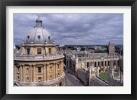Framed Radcliffe Camera and All Souls College, Oxford, England