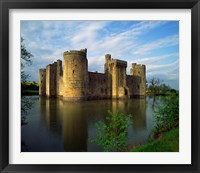 Framed Bodiam Castle, Sussex, England