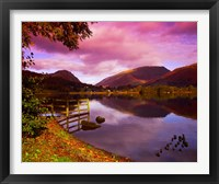 Framed Grasmere in The Lake District, Cumbria, England