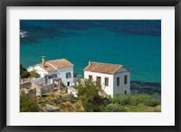 Framed Greece, Aegean Islands, Samos, Kalami Beach Houses