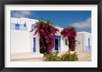 Framed Greek Architecture, Mykonos, Greece
