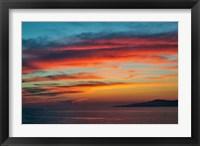Framed Sunset, Mykonos, Greece