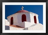Framed One of Many Chapels, Mykonos, Greece